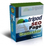 Tripod SEO Page Generator Software with Personal Use Rights
