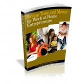 Saving Time and Money eBook with Private Label Rights