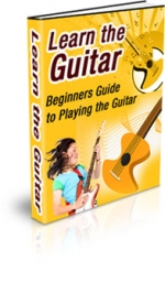 Learn The Guitar eBook with Master Resale Rights