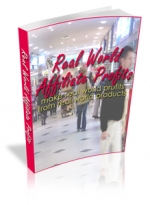 Real World Affiliate Profits eBook with Master Resale Rights