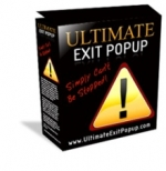 Ultimate Exit Popup Software with Master Resale Rights