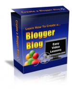 Learn How To Create A Blogger Blog Video with Personal Use Rights