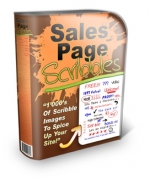 Sales Page Scribbles Graphic with Personal Use Rights