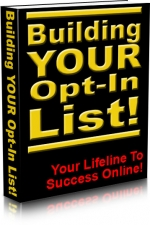 Building Your Opt-In List! eBook with Master Resale Rights