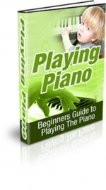 Playing Piano eBook with Master Resale Rights