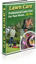 Lawn Care eBook with private label rights