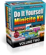 Do It Yourself Minisite Kit : Volume 2 Template with Personal Use Rights