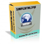 Simple HTML 2 PDF Software with Resale Rights