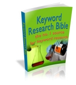 Keyword Research Bible eBook with Master Resale Rights