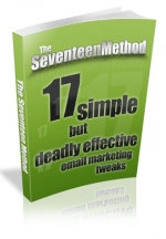 The Seventeen Method eBook with Master Resale Rights