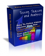 Testing Tracking And Analytics Video with Personal Use Rights