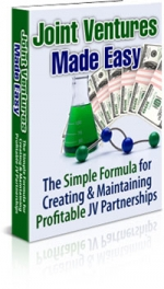 Joint Ventures Made Easy eBook with Master Resale Rights