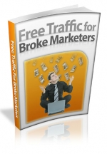 Free Traffic For Broke Marketers eBook with Master Resale Rights