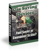 Gas Saving Devices eBook with Private Label Rights