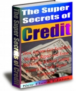The Super Secrets Of Credit eBook with private label rights