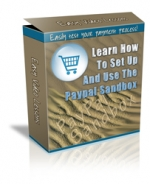 Learn How To Set Up And Use The PayPal Sandbox Video with Personal Use Rights