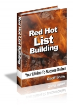 Red Hot List Building eBook with Master Resale Rights