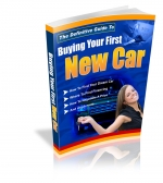 Buying Your First New Car eBook with Private Label Rights