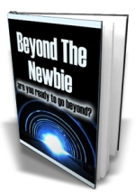 Beyond The Newbie eBook with Master Resale Rights