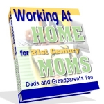 Working At Home For 21st Century Moms eBook with Master Resale Rights