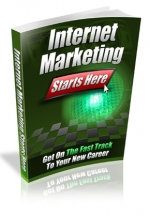 Internet Marketing Starts Here eBook with Master Resale Rights