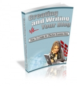 Creating And Writing Your Blog eBook with Master Resale Rights