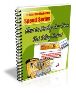 Internet Marketing Speed Series eBook with Private Label Rights