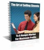 The Art Of Selling Shovels eBook with Private Label Rights