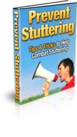 Prevent Stuttering eBook with Master Resale Rights