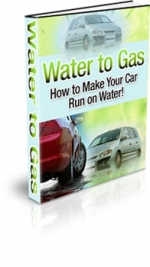 Water To Gas eBook with Master Resale Rights