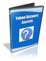 Yahoo Answers Secrets Video with Master Resale Rights