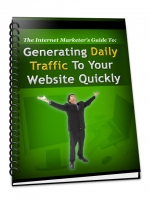 Generating Daily Traffic To Your Website Quickly eBook with Master Resale Rights