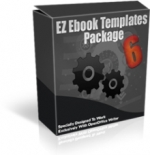 EZ Ebook Templates Package V6 Template with Master Resale Rights