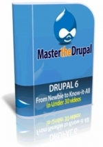 Master The Drupal : 17 Basic Videos Video with private label rights