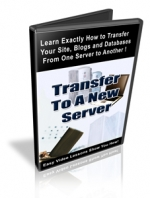 Transfer To A New Server Video with private label rights