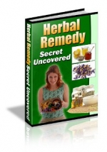Herbal Remedy Secret Uncovered eBook with private label rights
