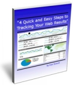 4 Quick and Easy Steps to Tracking Your Web Results eBook with Master Resale Rights