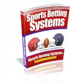 Sports Betting Systems eBook with Master Resale Rights
