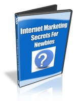 Internet Marketing Secrets For Newbies Video with Master Resale Rights