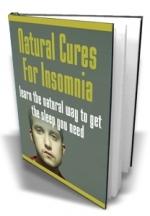 Natural Cures For Insomnia eBook with Master Resale Rights