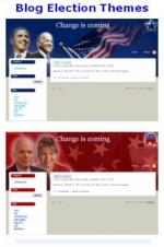 Blog Election Themes Template with Personal Use Rights