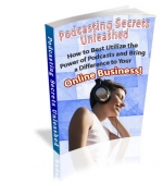Podcasting Secrets Unleashed eBook with Private Label Rights