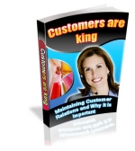 Customers Are King eBook with Private Label Rights