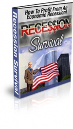 Recession Survival eBook with Master Resale Rights