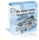 My Sales Letter Graphics Pack! Graphic with Master Resale Rights
