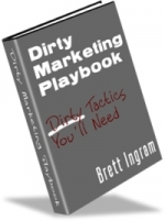 Dirty Marketing Playbook eBook with private label rights