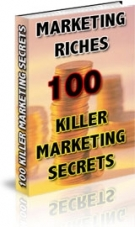 Marketing Riches eBook with Resell Rights