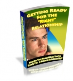 Getting Ready For The Right Relationship eBook with Private Label Rights