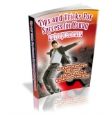 Tips And Tricks For Success For Young Entrepreneurs eBook with Private Label Rights