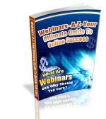 Webinars A-Z : Your Ultimate Guide To Online Success eBook with Private Label Rights